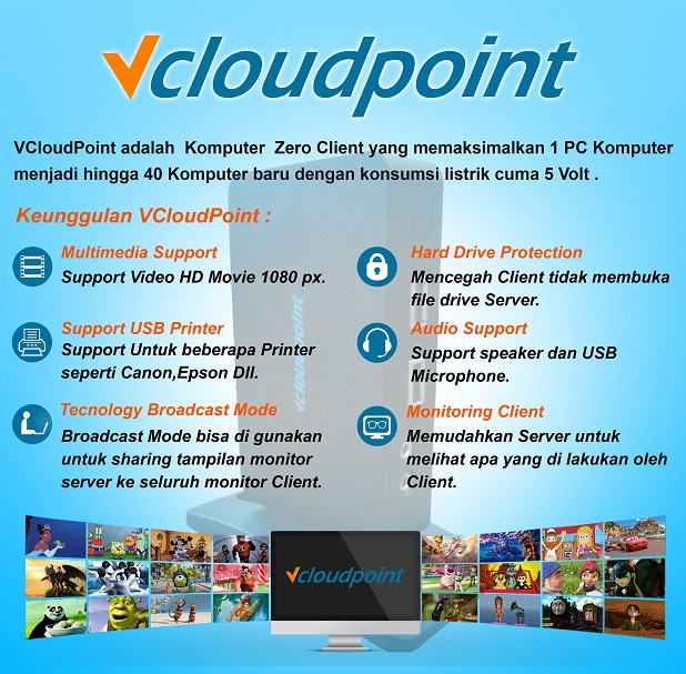 Keunggulan Vcloudpoint