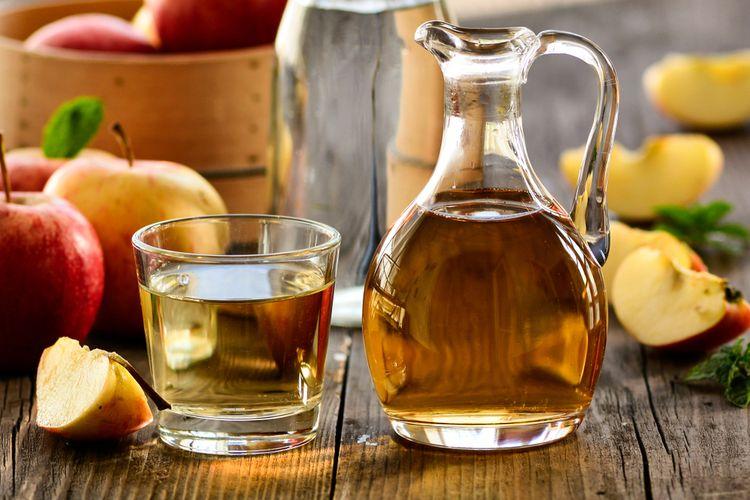 Semprotkan Cuka Apel